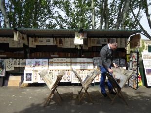 Parisian Book Stalls 03