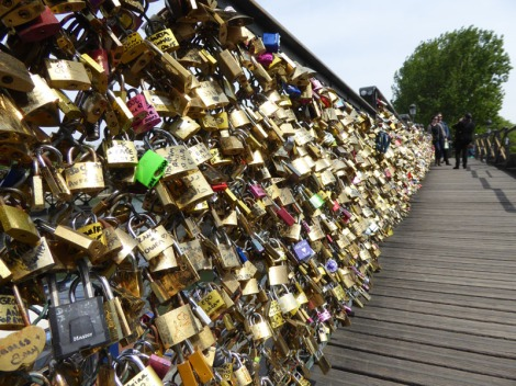 Paris's Love Locks